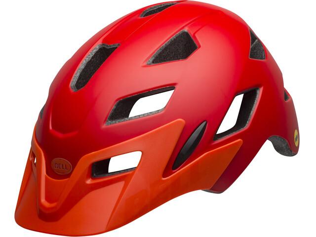 Bell Sidetrack MIPS Helmet Youth matte red/orange